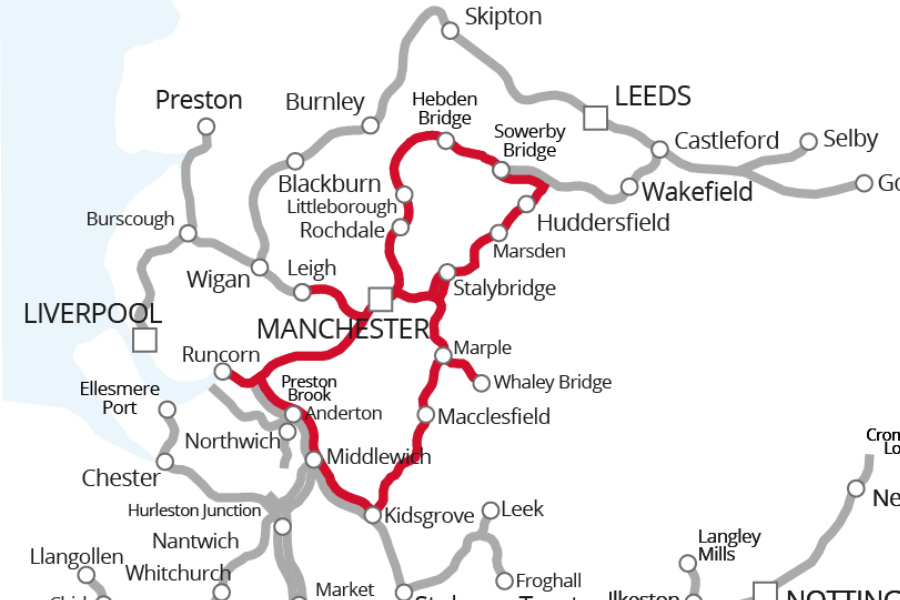 Cheshire Ring Canal Route